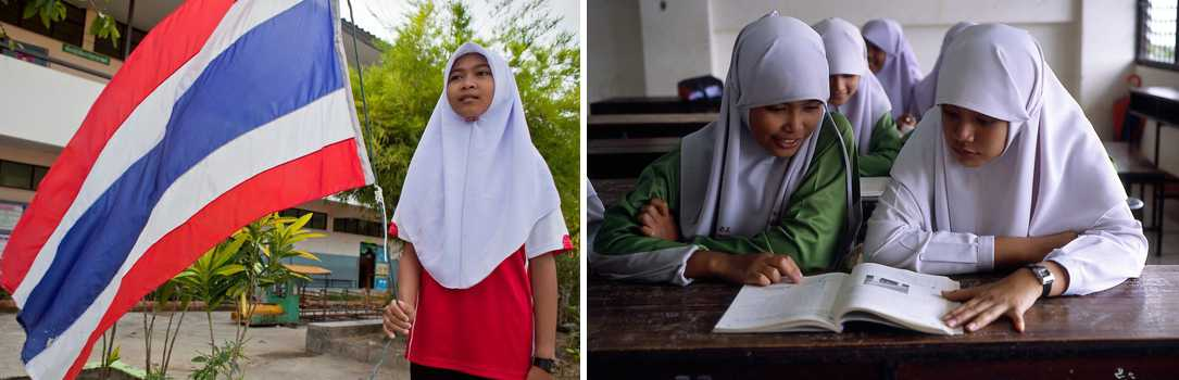 What's it like teaching at an Islamic school in Thailand's South?