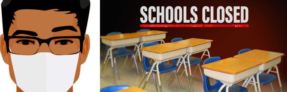 Schools closed!