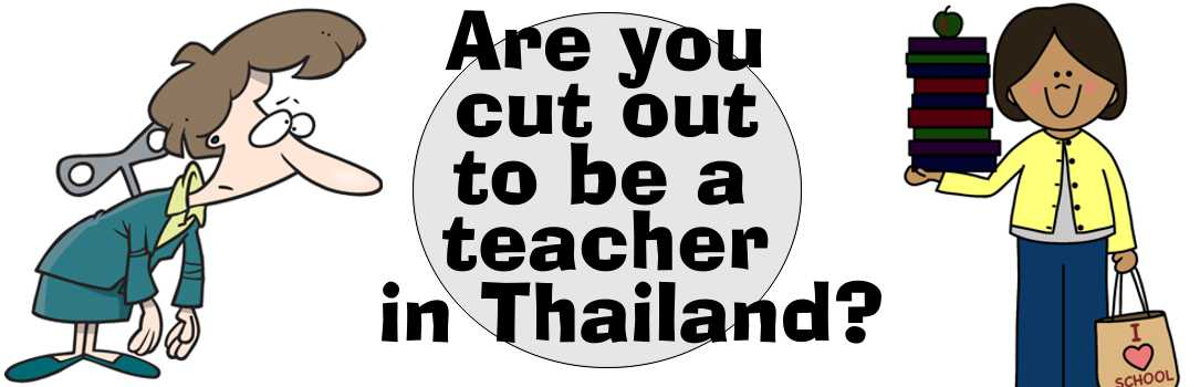 Dress sense and the five types of foreign teacher
